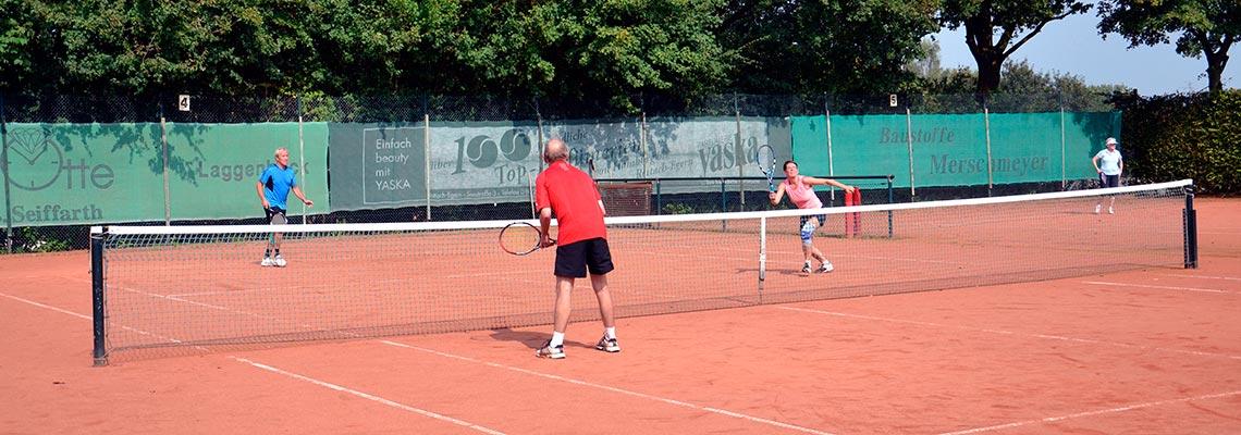 Tennis, der Sport für die ganze Familie!